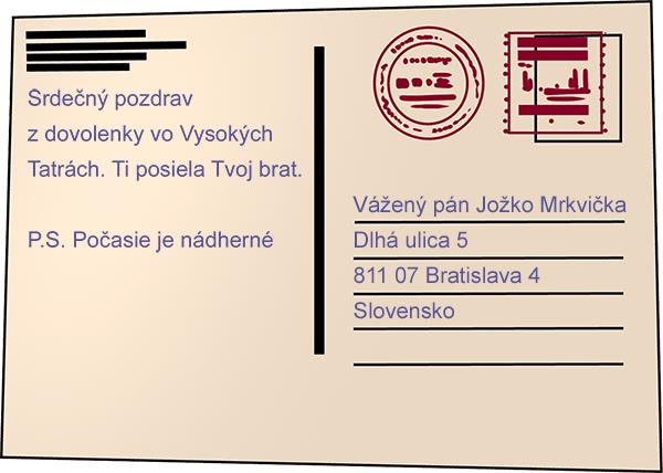 How To Write A Postcard / Sentences And Complex Sentences